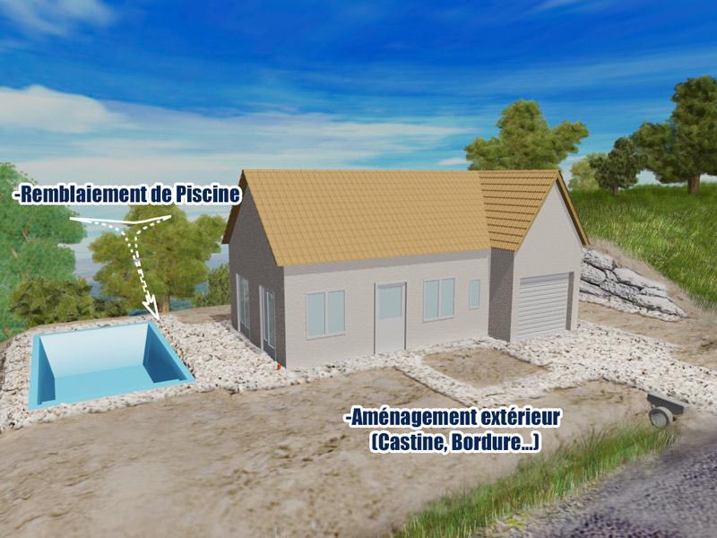 Am nagement exterieur castine aubazine archives for Terrassement exterieur