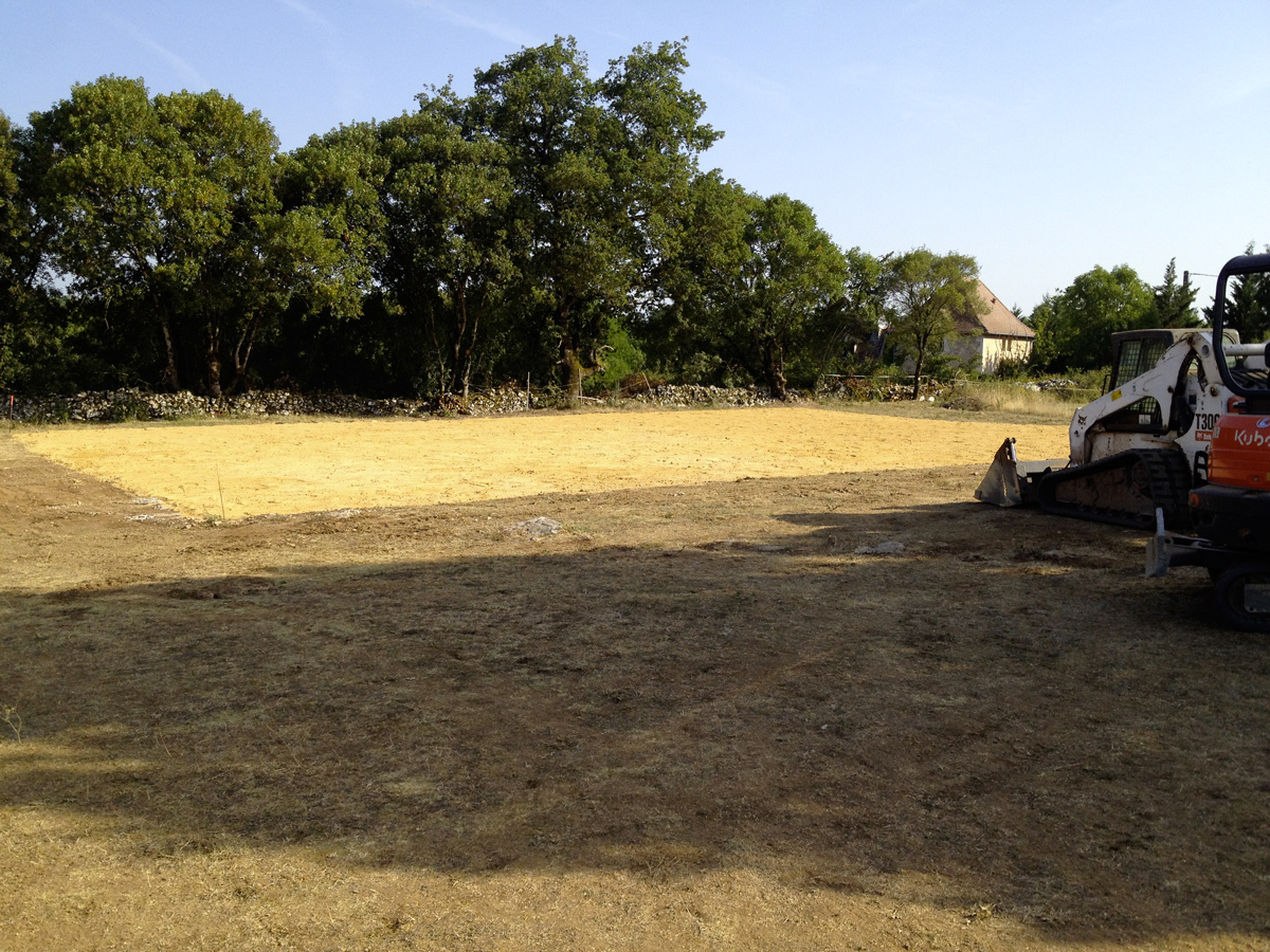 Travaux terrassement assainissement gabions Beynat Collonges Beaulieu